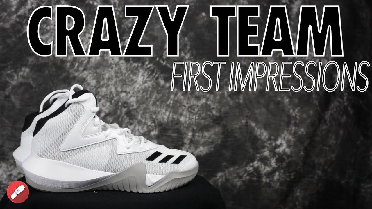 Adidas Crazy Team 2017 First Impressions! - YouTube dc0fa8cfe