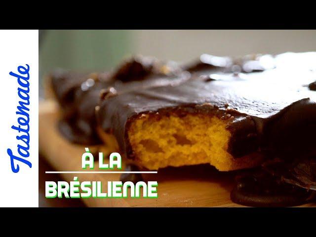 Gâteau à la carotte - À la brésilienne
