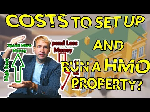 House of Multiple Occupation - Costs to Set Up and Run a HMO Property - Tom Heaney