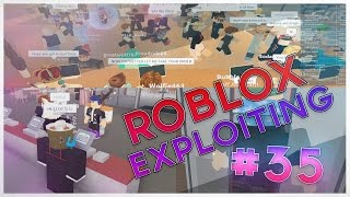 Trolling RolePlayers!!! I Roblox Exploiting #35