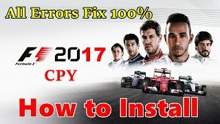 How to Install F1 2017 CPY - Cracked By CPY