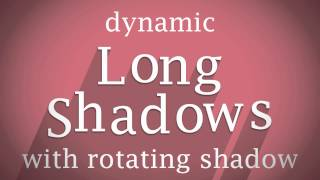 long shadows in after effects testing