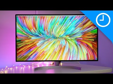 LG UltraFine 31.5″ 4K Display with Thunderbolt 3 review – a large monitor with plenty of I/O [Video]
