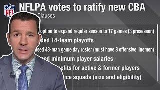 NFL & NFLPA Pass New CBA: 17 Game Schedule, New Marijuana Policy, & MORE