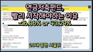 연금저축펀드 솔직한 장단점 및 추천, 후기