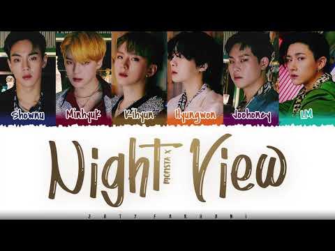 MONSTA X - 'NIGHT VIEW' Lyrics [Color Coded_Han_Rom_Eng]