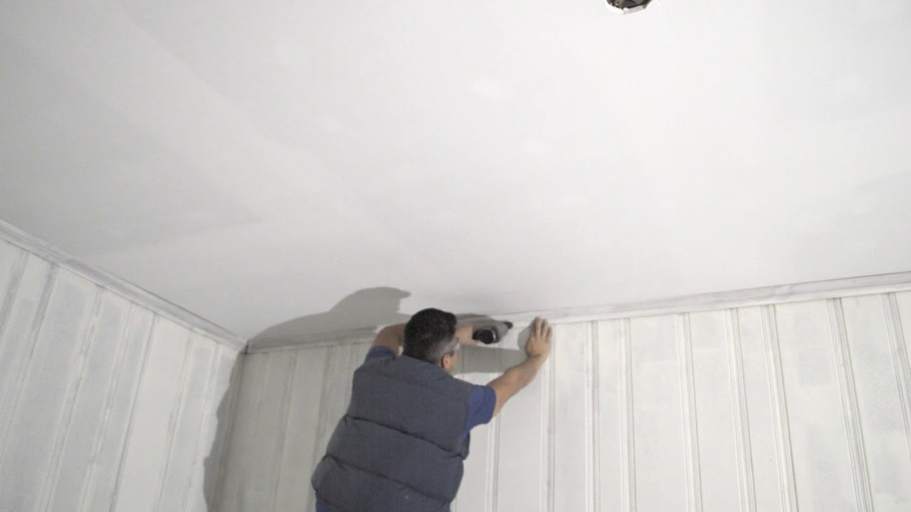 How To Finish Ceilings After New Drywall
