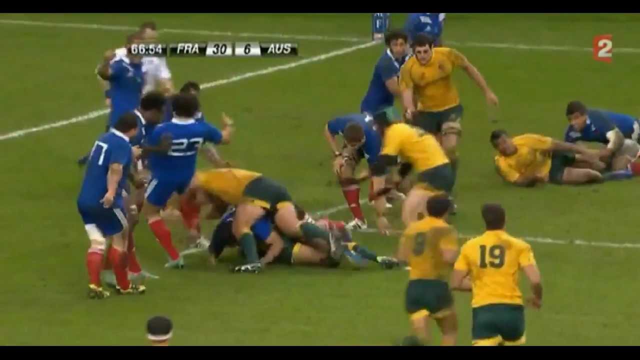 r u00e9sum u00e9 france - australie  33-6  test match 10  11  12