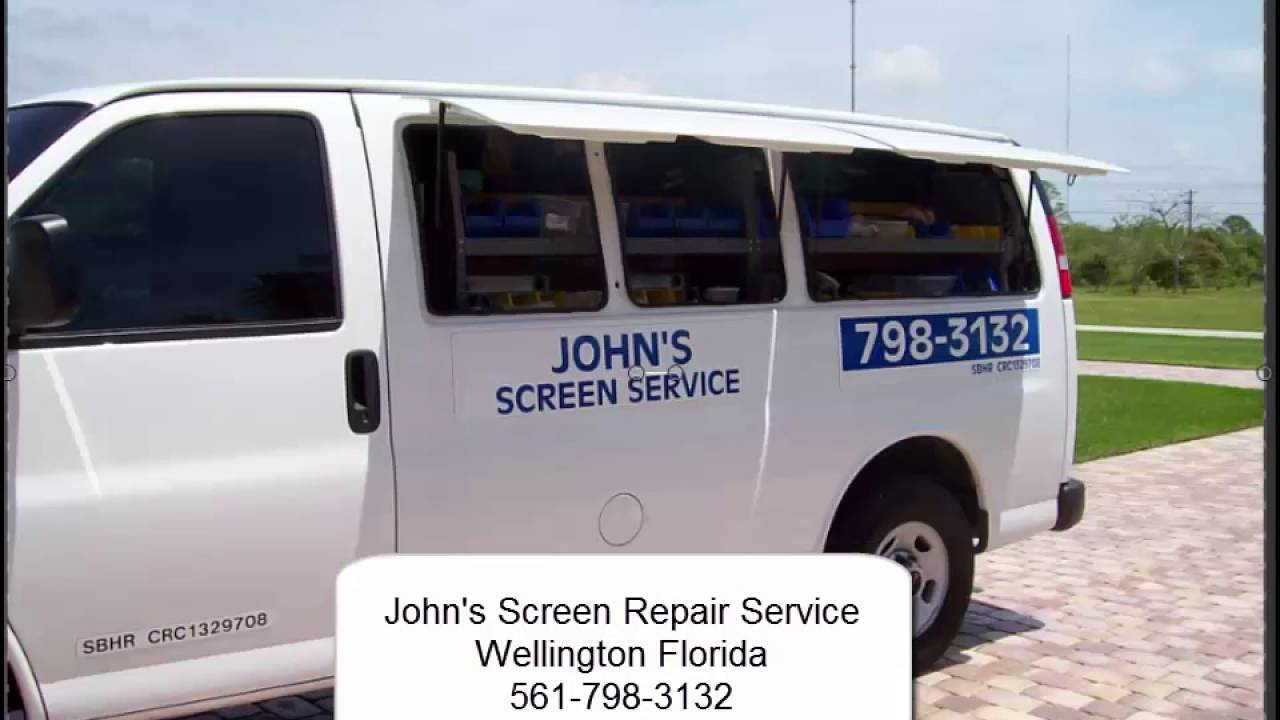 John's Screen Repair | Repair Pool and Patio Screens