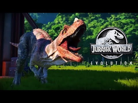 Jurassic World Evolution 🐌Стрим [DUCIT]  Остров Исла-Таканьо🌴🌴🌴