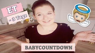 Babycountdown    ET  - 3   Was war gestern los? 😱   TammisBlog ♥