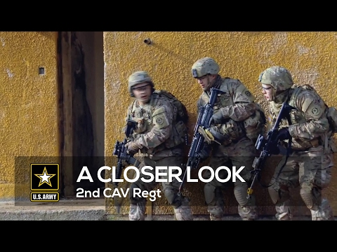 A Closer Look 2nd CAV Regt