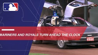 Mariners and Royals turn ahead the clock at Safeco