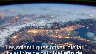 Les premières images de l'astéroïde qui a frôlé la Terre jeudi