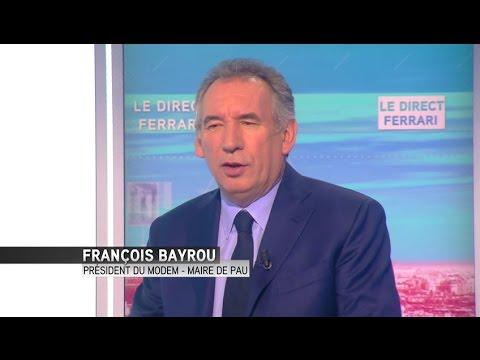 """François Bayrou : """"Ne pas mélanger religion et politique"""""""