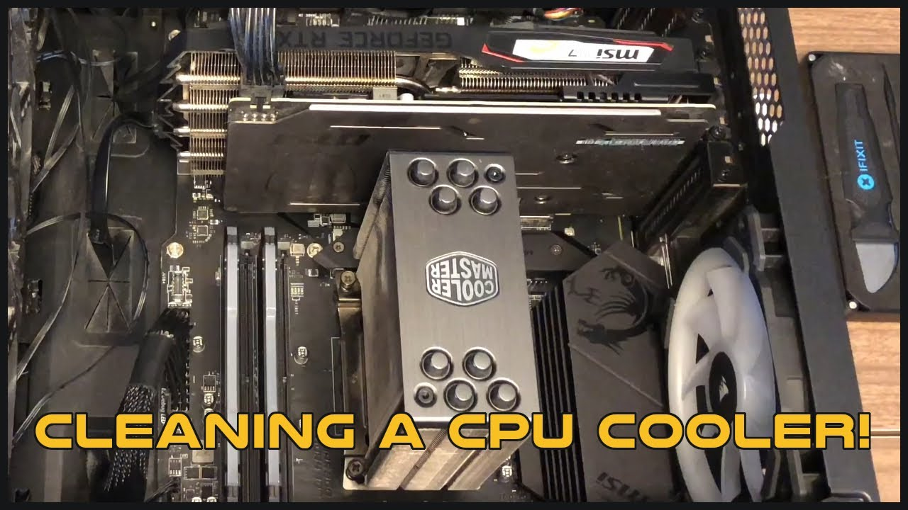Deep-Cleaning A Gaming CPU Cooler! More Dirty Videos!