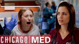 Dr Manning Doesn't Lose Hope For Their Baby | Chicago Med