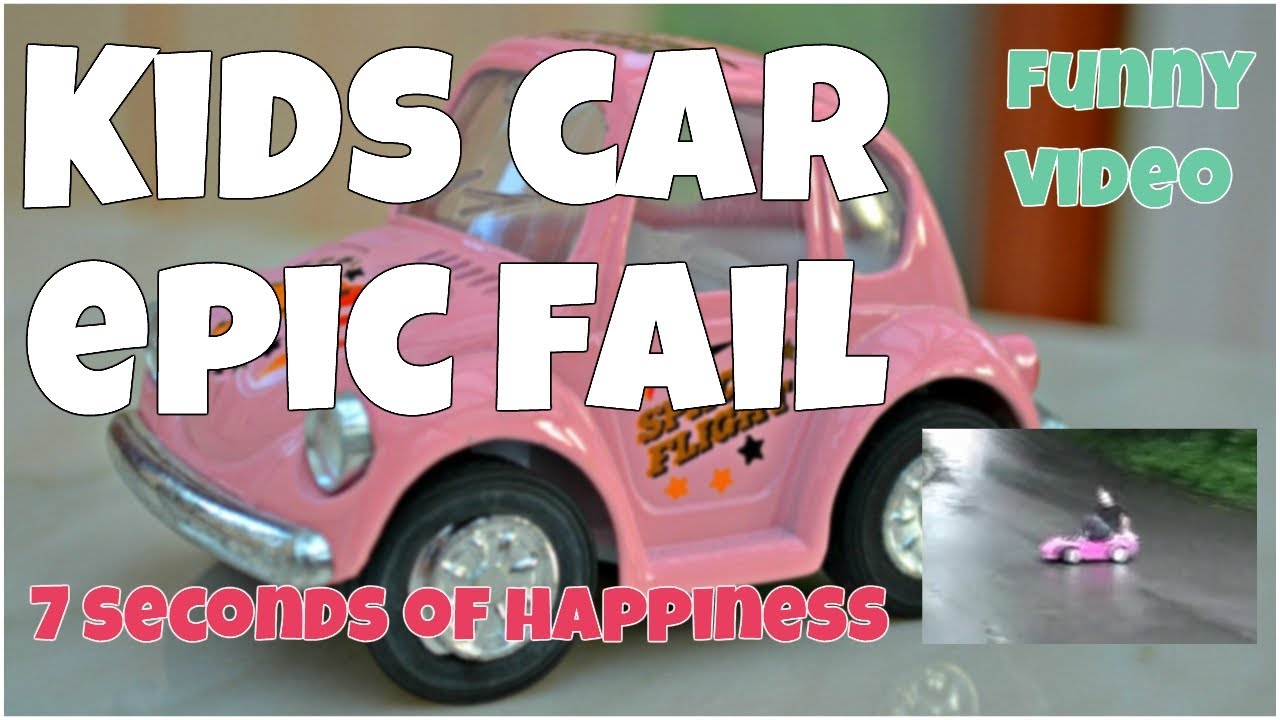Youngsters automobile epic fail ★ 7 second of happiness FUNNY Video 😂