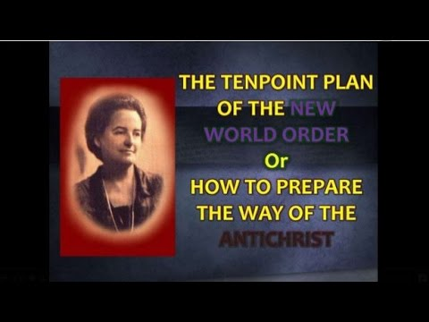 Snippet of Truth-Alice Bailey 10 Point Plan