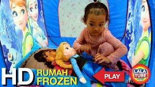 lala main rumah rumahan frozen - Playing Frozen House