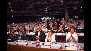 Leipziger Parteitag: Generaldebatte