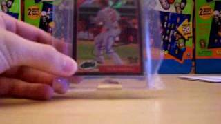 eTopps Colby Rasmus 2009 RRO Autograph Baseball Card