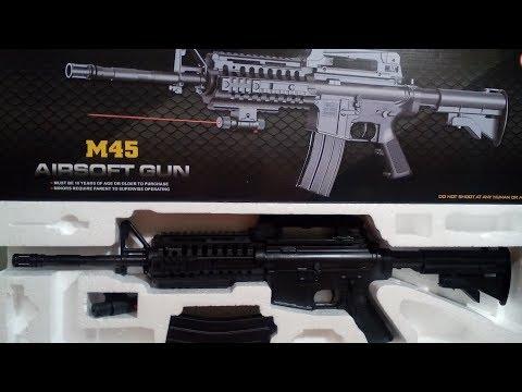 М 45. Пневматическая винтовка.Пластик. Игрушка.