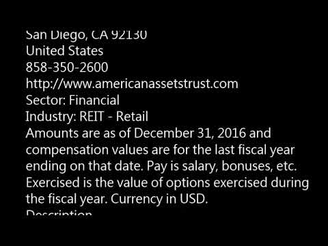 AAT American Assets Trust, Inc  AAT buy or sell Buffett read basic profile