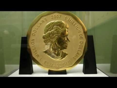 Massive Gold Coin Worth $4.5 Million Stolen from German Museum