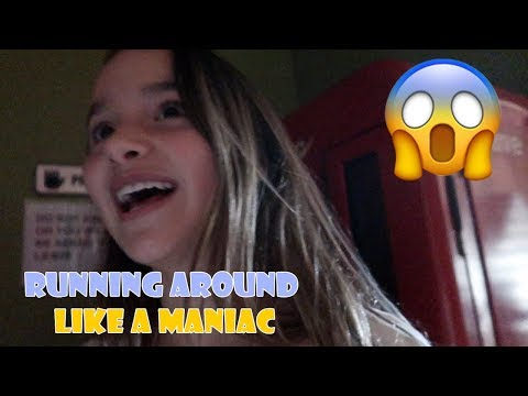 RUNNING AROUND LIKE A MANIAC 😱 (WK 352) | Bratayley