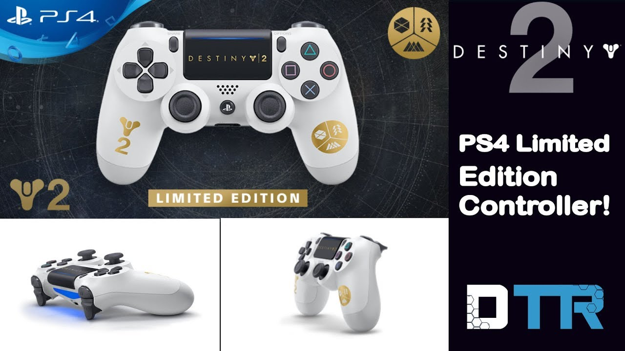 Destiny 2: PS4 Controller Exclusive!