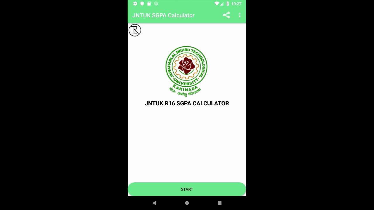 JNTUK GPA CALCULATOR R16 - by KANCHARLA RAJU - Education