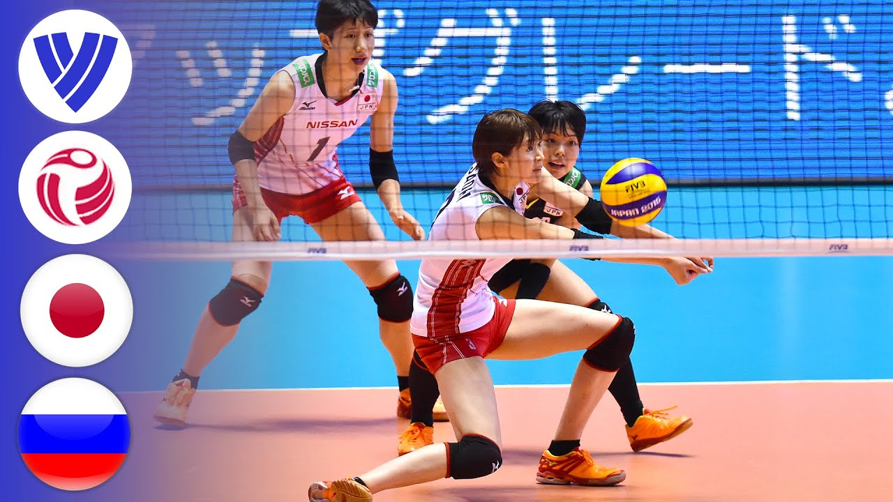 Japan vs. Russia - Full Match | Women's Volleyball World Cup 2015