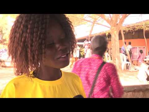 YOUNG SOUTH SUDANESE STAND UP FOR PEACE THROUGH DANCE