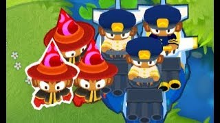 Bloons TD 6 - CHIMPS - Downstream - Easy Strategy