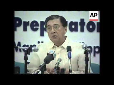 PHILIPPINES: ASEAN SUMMIT: ZHU RONGJI