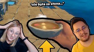 AGU ZROBIŁA ZUPĘ! - Raft | ZIO i AGU