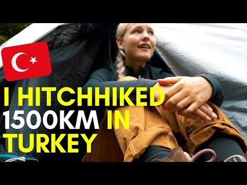 Hitchhiking as a solo female traveler in Turkey   Black Sea Coast #34