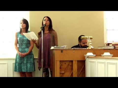 """So You Would Know"" Live @ Fincastle United Methodist Church"