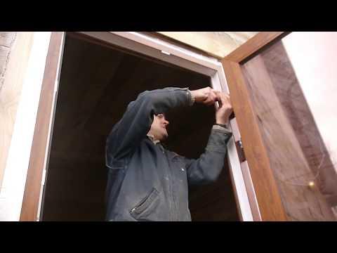 Видео регулировка пластиковых дверей своими руками видео