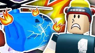 CRASHED MY NEW HELICOPTER!! | Roblox Plaza thumbnail