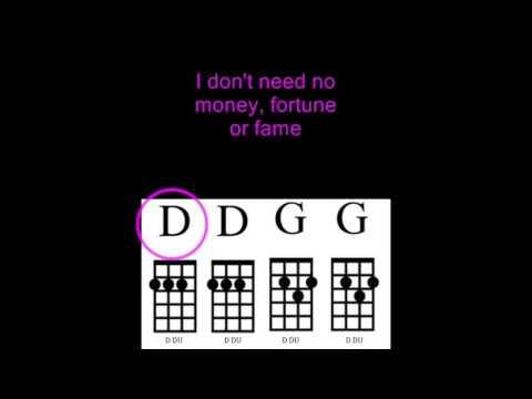 My Girl - Uke Chord Guide