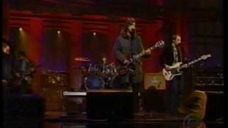 Johnny Marr and The Healers - 'The Last Ride' David Letterman