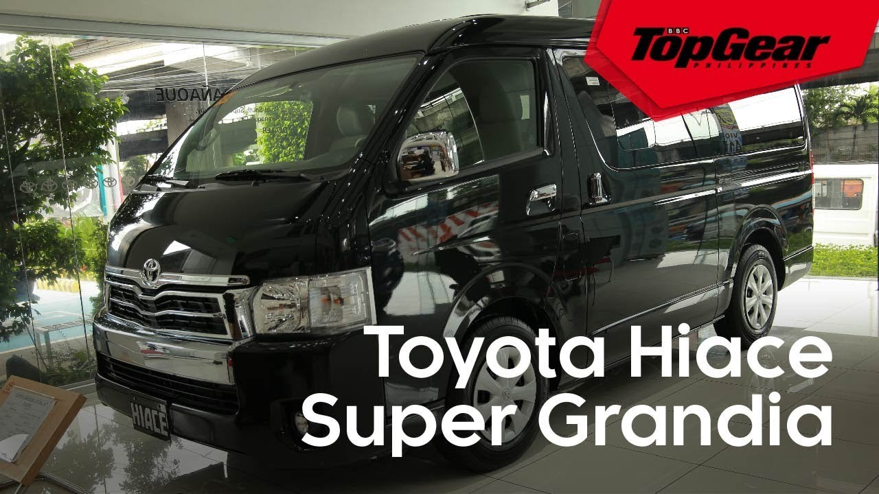 The Hiace Super Grandia Is A Van Fit For A Big Family Youtube
