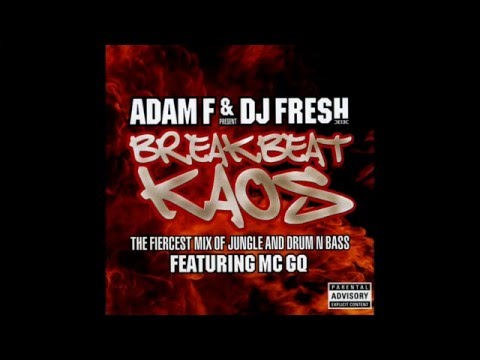 Adam F & Dj Fresh Present Breakbeat Kaos CD2