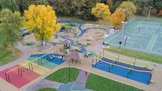 Woodridge Park - Cottage Grove, MN - Visit a Playground - Landscape Structures