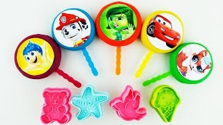 Lollipops Smiley Inside Out Littlest Pet Shop Disney Cars McQu…