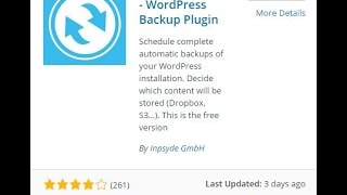 How to Backup Your WordPress Website to Dropbox