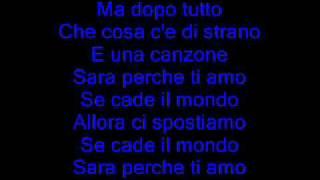 Sara Perche- Ti Amo(remix+Lyrics)