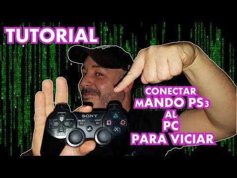 TUTORIAL CONECTAR MANDO PS3 AL PC